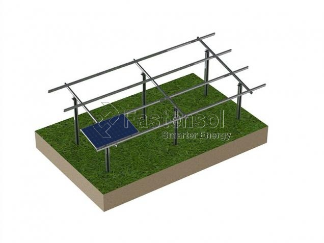 Pile ground mounting rack wholesale